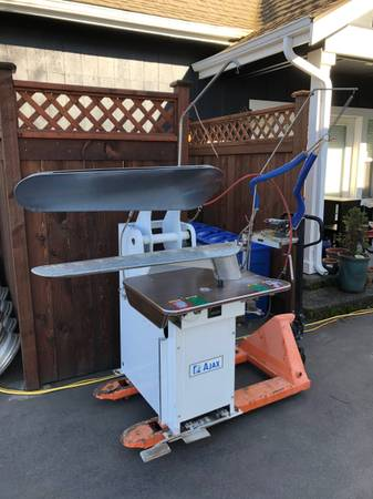 Photo American Laundry Machinery AJAX Pants Press Presser HOU45 Dry Cleaning - $699 (Conway)