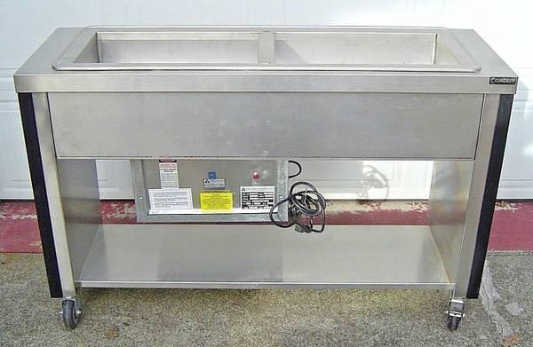 Photo Atlas Metal Slim Line Cold Pan Refrigerator Stainless Steel Salad Bar - $800 (Chehalis)