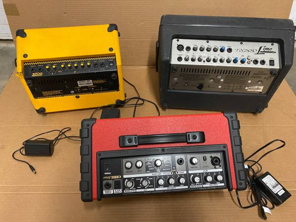 Photo Battery Power Amps - $100 (Fremont)