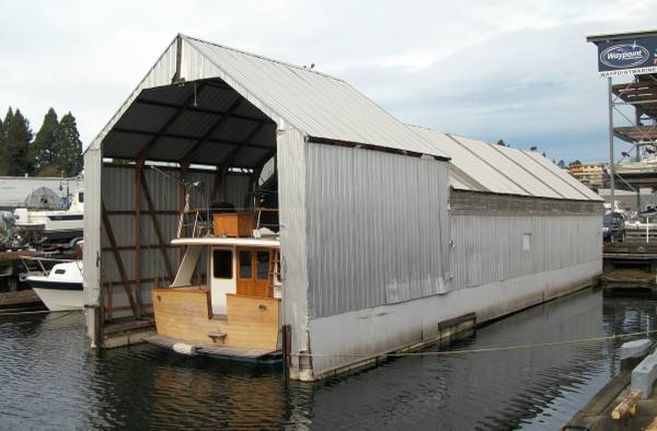 Photo Boathouse for short or long term RENTAL $85day - $85 (Seattle)