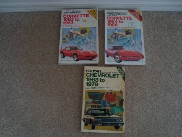 Photo Chilton Repair Manual for 1968-1979 Chevy - $5 (Woodinville)