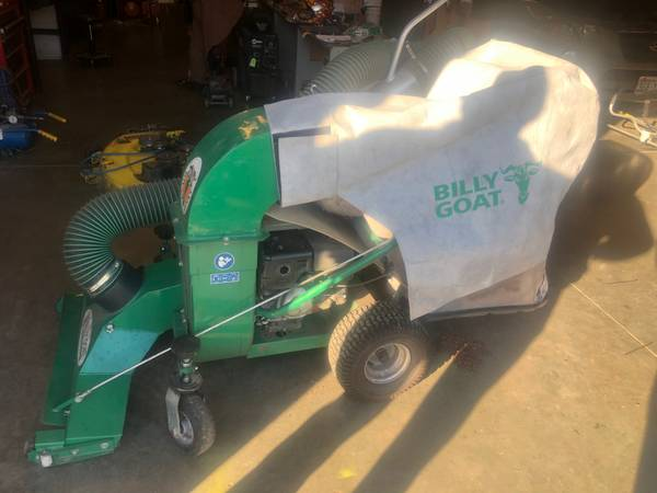 Photo Commercial Outdoor Vacuum - Billy Goat Like NEW - $1450 (Bothell)