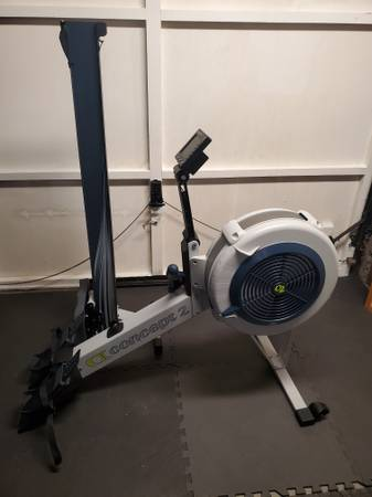 Photo Concept 2 rowing machine model D pm5