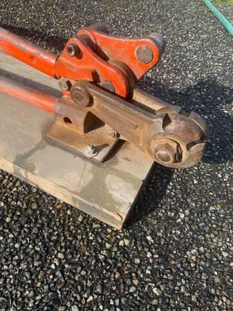 Photo Concrete Rebar Cutter  Bender Tool 58 - $200 (Lynnwood)