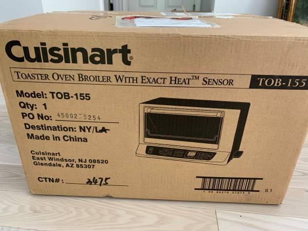 Photo Cuisinart Toaster Oven Broiler with Exact Heat Sensor brand new - $160 (Redmond)