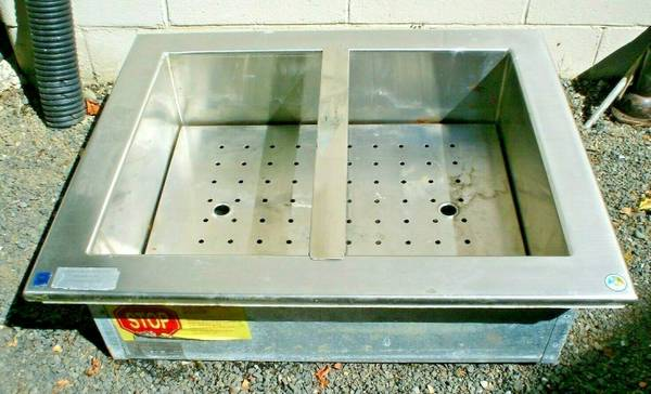 Photo Delfield Stainless Steel Drop-In Iced Cooled Cold Pan NSF Food Well - $200 (Chehalis)
