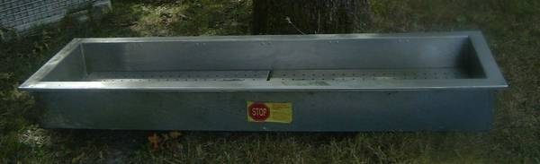 Photo Delfield Stainless Steel Drop-In Iced Cooled Cold Pan Food Well - $350 (Chehalis)