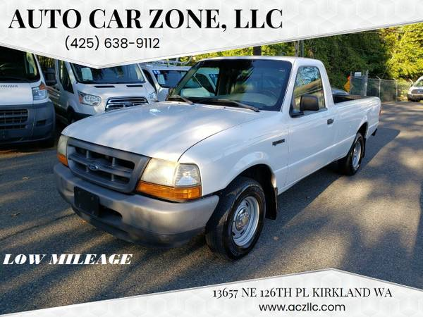 Photo Ford Ranger Pickup Truck Low Miles - $6,995 (Kirkland)