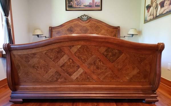 Gorgeous Thomasville British Gentry Master Bedroom Set I Deliver