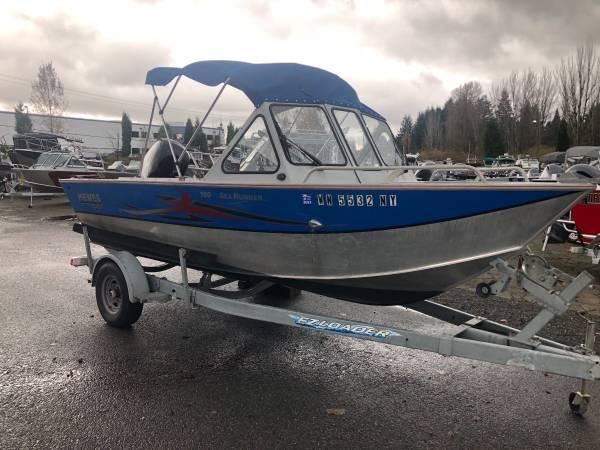 Photo Hewescraft 180 Searunner - $36,995 (Woodinville , Wa)