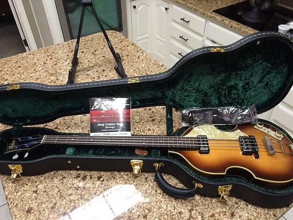 Photo Hofner Violin Bass - $1,850 (SEATTLE)
