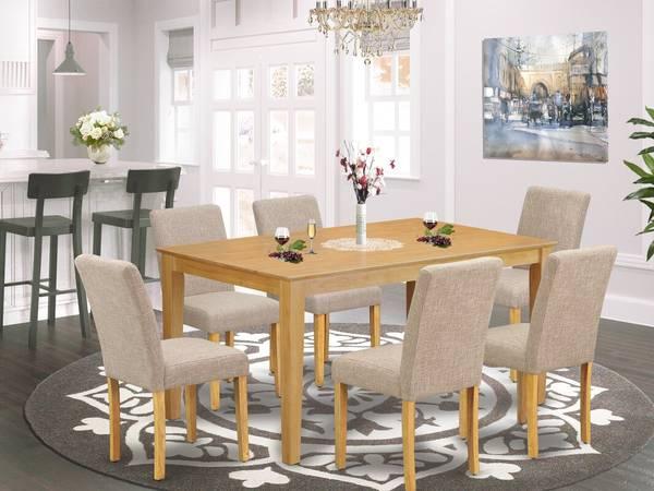 Photo IKEA SOLID WOOD OAK DINING ROOM SET - $400 (Bothell)