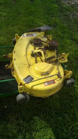 Photo John Deere Mower deck 38 inch - $400 (Puyallup)
