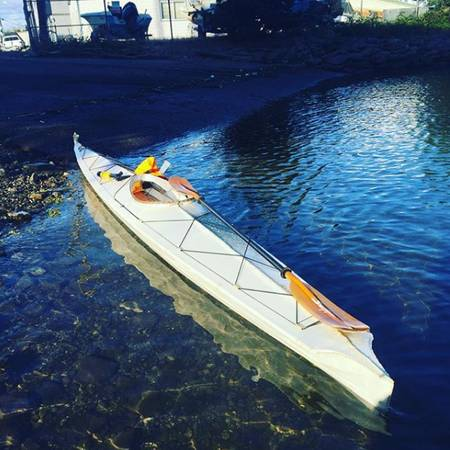 Photo Kayak Skin on Frame Baidarka - $900 (North Beacon Hill)