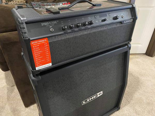 Photo Line 6 240-watt Spider V 240HC MkII  head - $300 (Lynnwood)