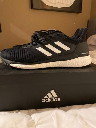 Photo Mens Adidas Solar Glide 19 Running Shoes Size 13 - $60 (Kirkland)