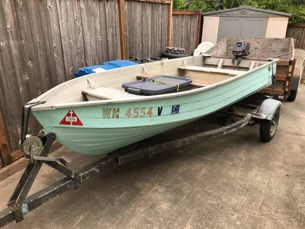 Photo MirroCraft aluminum fishing boat - $2,500 (Renton)