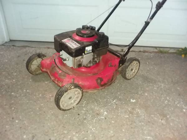 Photo Mower commercial by Yard-Man starts needs work - $20 (South Seattle)