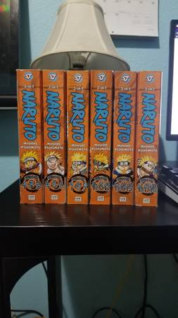 Photo Naruto 3-in-1, 1-6 (Volumes 1-18) - $100 (Maple Valley)