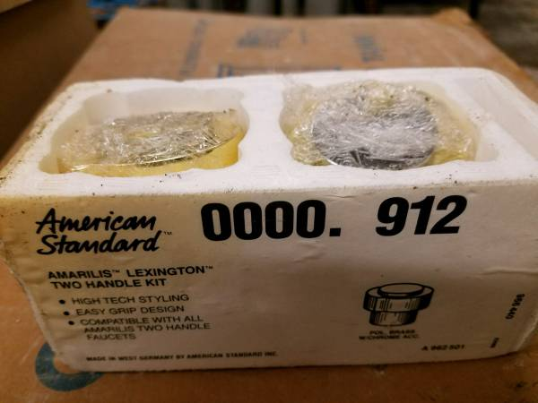 Photo New American Standard Handle Set for Faucet - $20 (Stanwood)