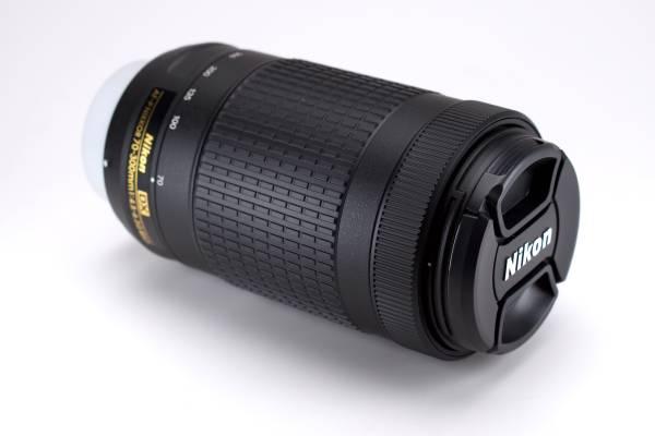 Photo Nikon AF-P DX NIKKOR 70-300mm f4.5-6.3G ED Zoom Lens telephoto dSLR - $180 (Ballard)