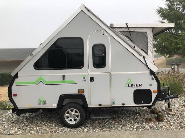 Photo POP-UP HARD SIDED 2018 ALINER CAMPER WITH FRONT DORMER AND LOTS MORE - $14,000 (Oak Harbor)