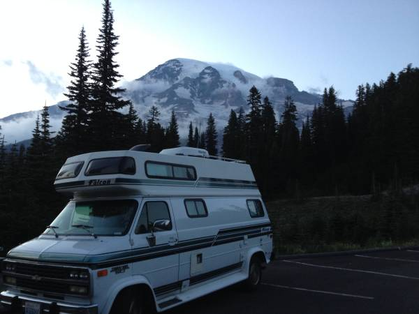 Photo Pending - 1994 Chevy Falcon 190 Class B RV - $12,000 (Mt. BakerLeschi)