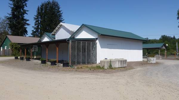 Photo Plant Nursery, Landscaper, Floral Store Building, Office, Greenhouse - $2,500 (For Lease  SR203  Tualco Road Monroe)