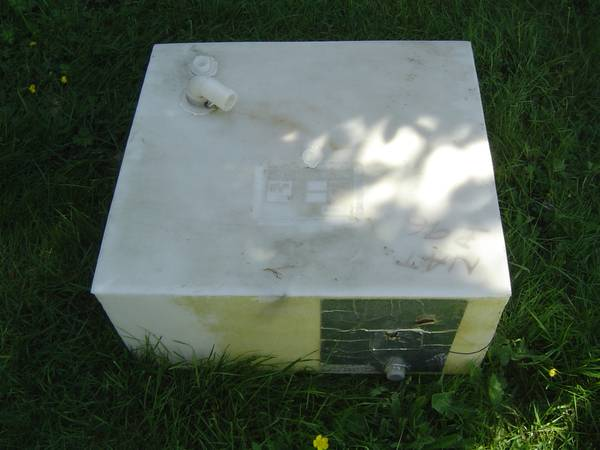 Photo RV Water Tank from Toyota Dolphin Motorhome - $25 (Chehalis)