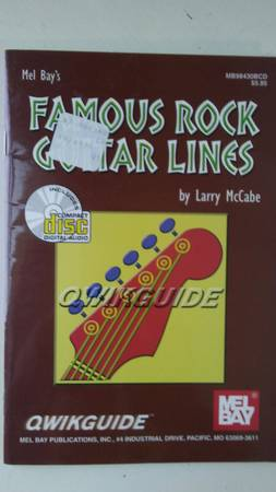 Photo Rock Guitar Lines QuickGuide with CD - $5 (Downtown Everett)