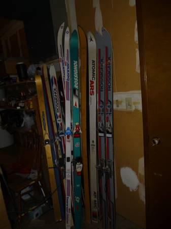 Photo Skis, Ski and Hiking Poles - $70 (Bellevue)