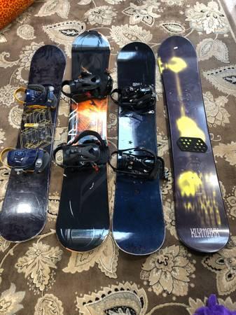 Photo Snowboard sale Forum, Lamar, GNU, KLYMAXX - $150 (Auburn)