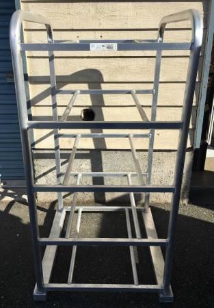 Photo Stainless Steel Industrial Rack Pan Bun Rack - $275 (Snohomish)