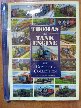 Photo Thomas The Tank Engine - Complete Collection of Stories - hardcover DJ - $20 (North SeattleLake City)