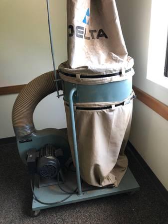 Photo Two Delta Dust Collectors - AP400  50-850 - $300