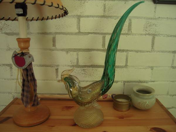 Photo VINTAGE MURANO GLASS ROOSTER - $100 (Seattle)