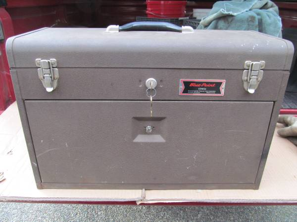 Photo Vintage Blue-Point by Snap-on Machinists Top Chest - $100 (Graham)