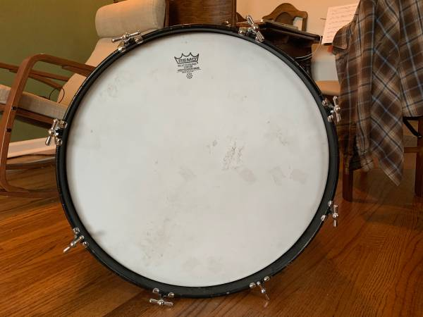 Photo Vintage Gretsch round badge bass drum 6 ply - $200 (Kenmore)