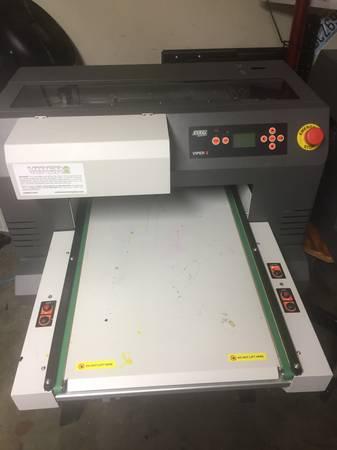 Photo Viper 2 DTG Garment Printer - $6000 (Everett)