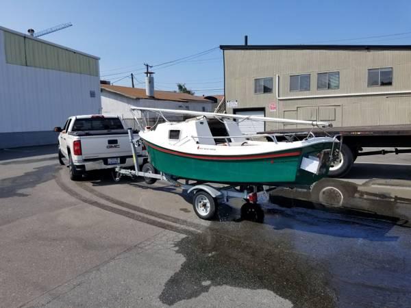 Photo West Wight Potter sailboat  trailer - $6100 (Ballard)