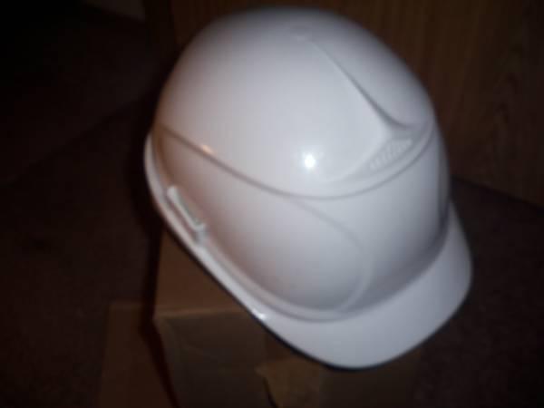 Photo White Hard Hat (Lacey)