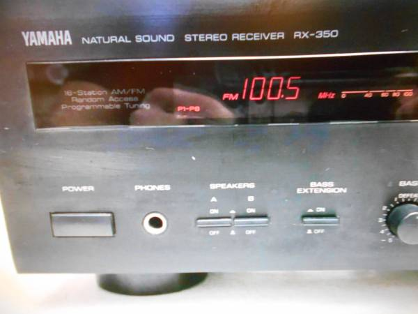 Photo Yamaha RX - 350 Receiver with remote - $125 (bremerton)