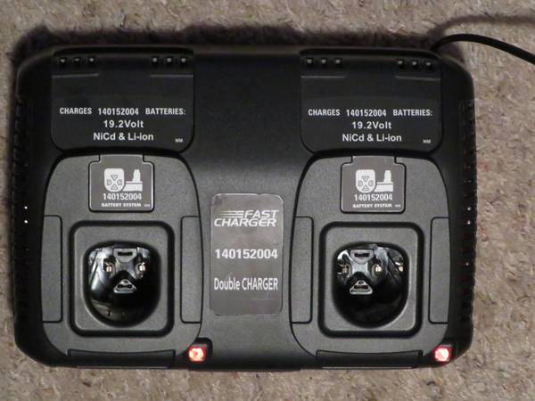 Photo double BATTERY CHARGER 19.2V Multi-Chemistry for Craftsman Battery - $40 (Puyallup)
