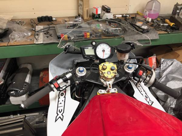 Photo motorcycle track bike race bike - $3,000 (vashon)