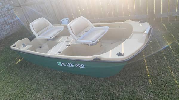 Photo 10 Foot Bass Hound Boat - $1,000 (Centerton)
