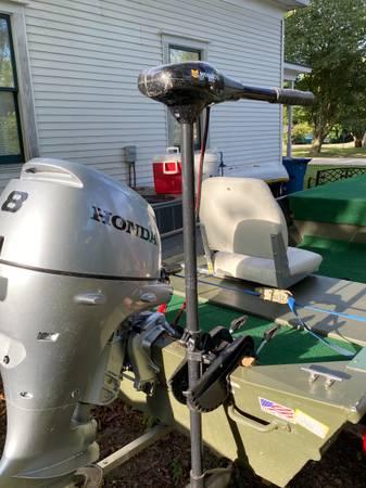 Photo 14 Foot Jon Boat, motor and trailer - $4,000 (Gentry)