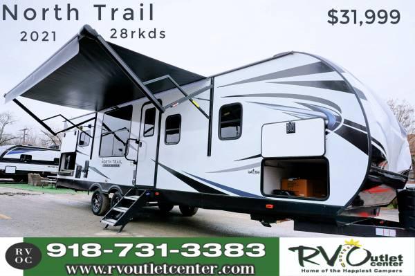 Photo 2021 North Trail 28RKDS Travel Trailer Half-Ton Towable EZ Financing - $31,999 (Tulsa)
