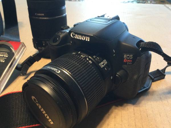Photo Canon EOS Rebel T4i - $350 (Owasso)