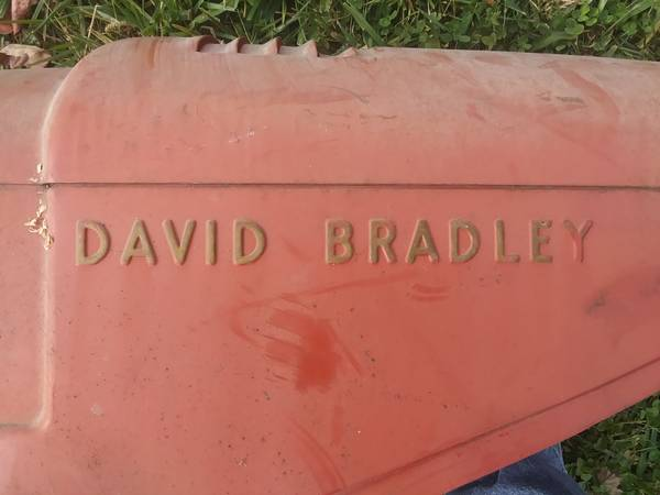 Photo David Bradley walk behind tractor. Circa 195039s - $150 (Lawrence)