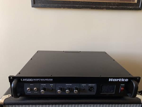 Photo Hartke LH500 Bass Amp - $225 (Tulsa)